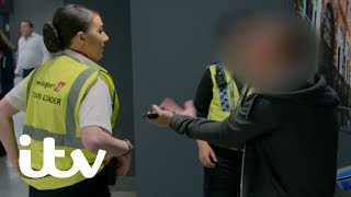 An Angry Passenger Refuses to Cooperate with Police | Yorkshire Airport