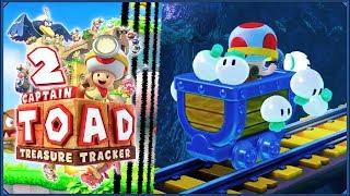 Captain Toad: Treasure Tracker #2 - Wagonik warzywnej zagłady!