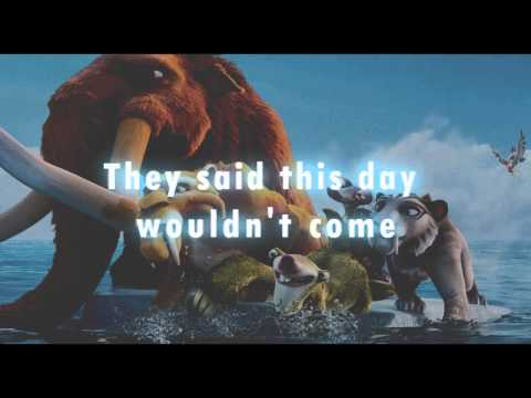 Chasing the sun with Lyrics Ice Age 4]   The Wanted   (HD)