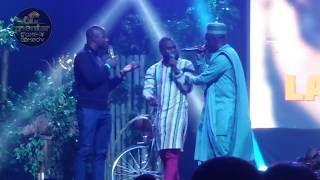 LASISI ELENU & MC LIVELY PERFORMANCE SO HILARIOUS LOL!
