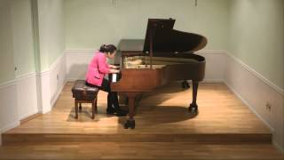 Chopin Scherzo No. 3 in C-sharp minor, Op. 39, Vivian Zhou piano