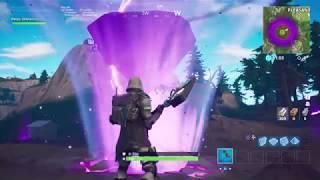 Fortnite Island shooting Lightning at Rune Event