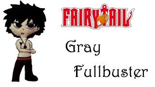 Fairy Tail:How To Make Gray FullbasterPlushie Tutorial