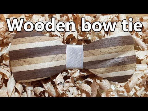 Making wooden bow tie | DIY