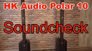 HK Audio Polar 10 Soundcheck