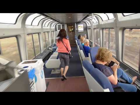 Amtrak Southwest Chief,  Los Angeles to Chicago,  May 2017