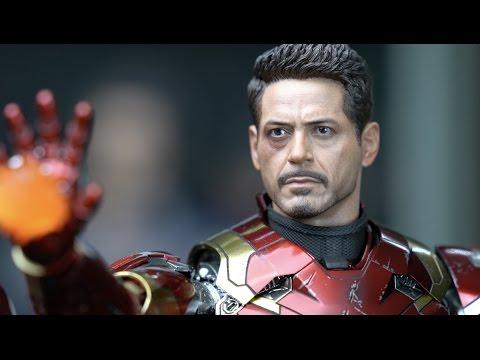 Hot Toys Iron Man Mark 46 1/6 Scale Figure 4K