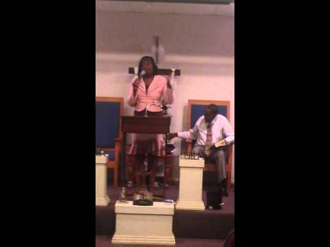 Prophetess Patricia Blount of Anointed Ones Ministry
