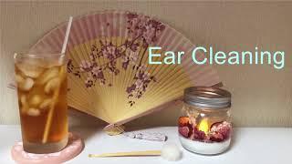 【地声】涼しくなる耳かき【納涼】Ear Cleaning