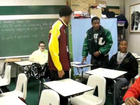 LONGViEW HiGH SCHOOL-MR.HERBERT CLASS ACTiN UP
