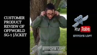 Stargate SG-1 Offworld Jacket Customer Feedback Review - Stitch's Loft