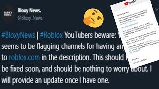 YouTube Bans Roblox Related Links In Video Descriptions