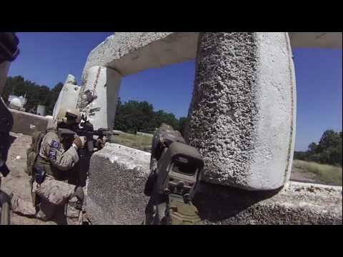 OP Broken Home 2012 Marine 1-4(KAG) Link Up with QRF6(BAD) for Airfield Assault (UNCUT)