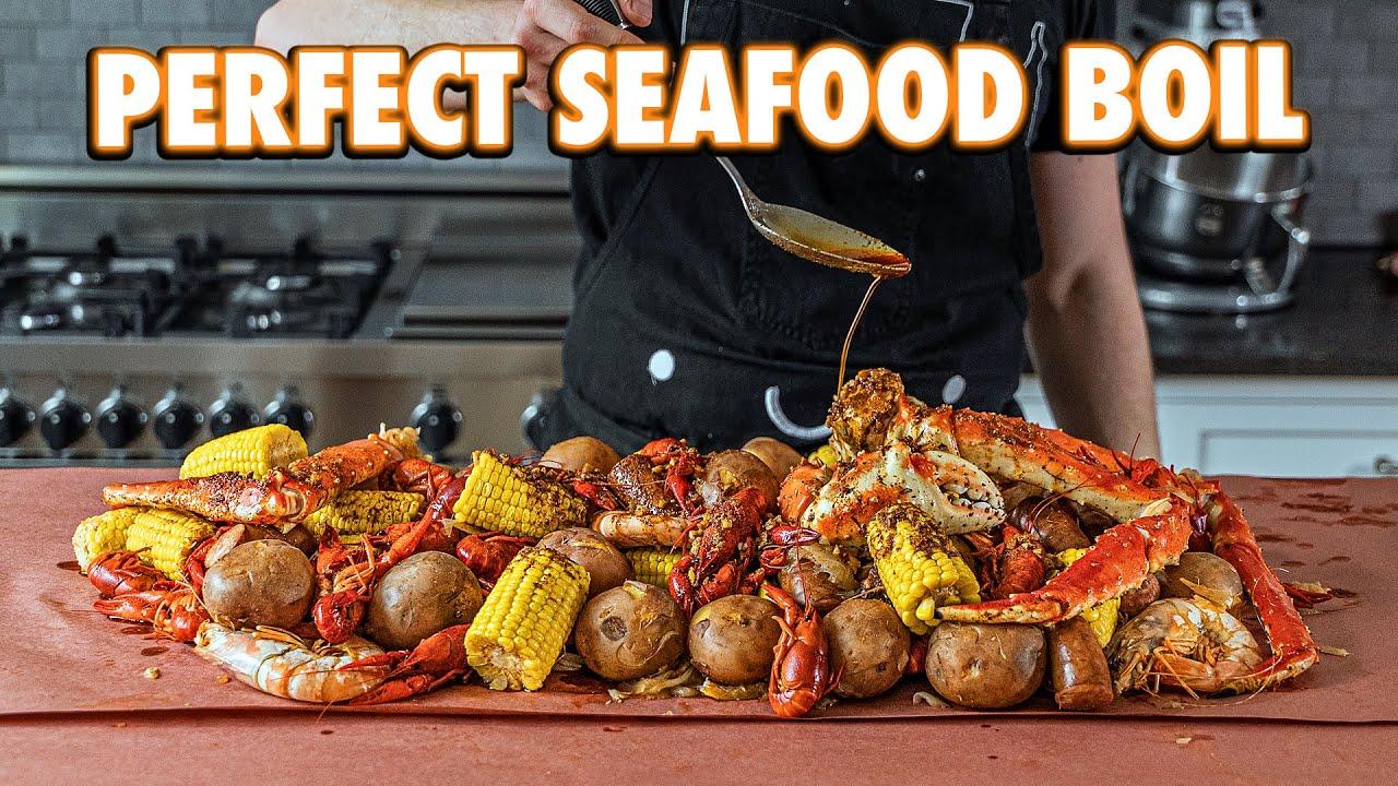Homemade Cajun Seafood Boil