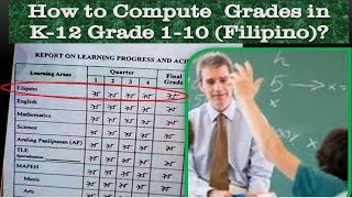 How To Compute Grades In K to 12