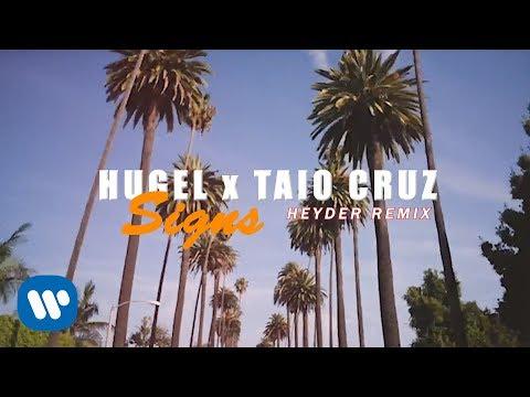 Смотреть клип Hugel & Taio Cruz - Signs