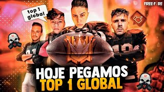 ❤️ PEGANDO TOP 1 GLOBAL VAMOS!!❤️ LOUD MEGA FT FLUXO APELAPATO❤️ FREEFIRE AO VIVO - LIVE ❤️