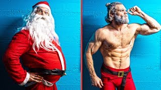 Santa's Christmas Fitness Transformation