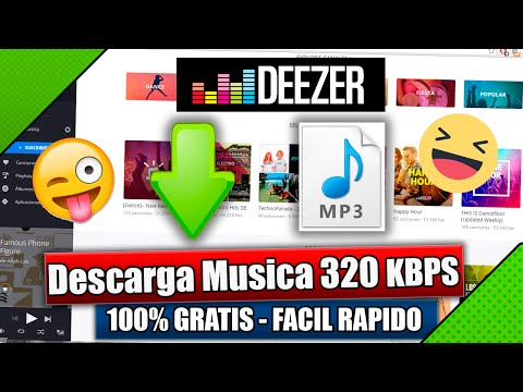 Descargar Musica - GRATIS ORIGINAL | Deezer Maxima Calidad 320 KB | Septiembre Funciona 2017 ✓