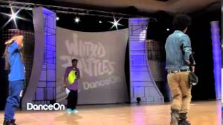 Larry LES TWINS vs  ALINA KORSUNENKO Allstyles Battle Round 1 HHI 2012