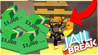 *WORKING* ROBLOX JAILBREAK BANK GLITCH IS BACK!? (ROBLOX)