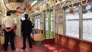 大阪市営地下鉄御堂筋線新大阪駅、御堂筋フェスティバル2017でXT線折り返し乗車体験車内光景