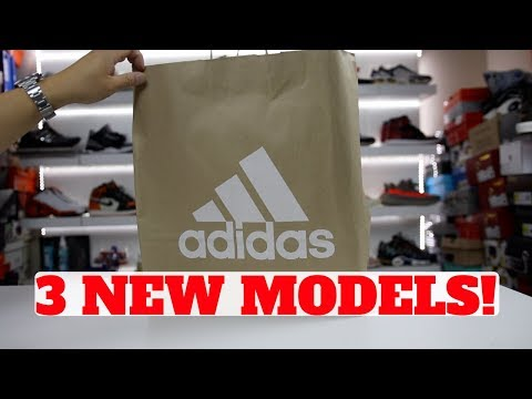 UNBOXING: 3 NEW ADIDAS SNEAKER MODELS I HAD TO TRY!