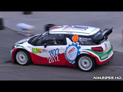 Monza Rally Show 2012 - WRC Cars PURE SOUND!