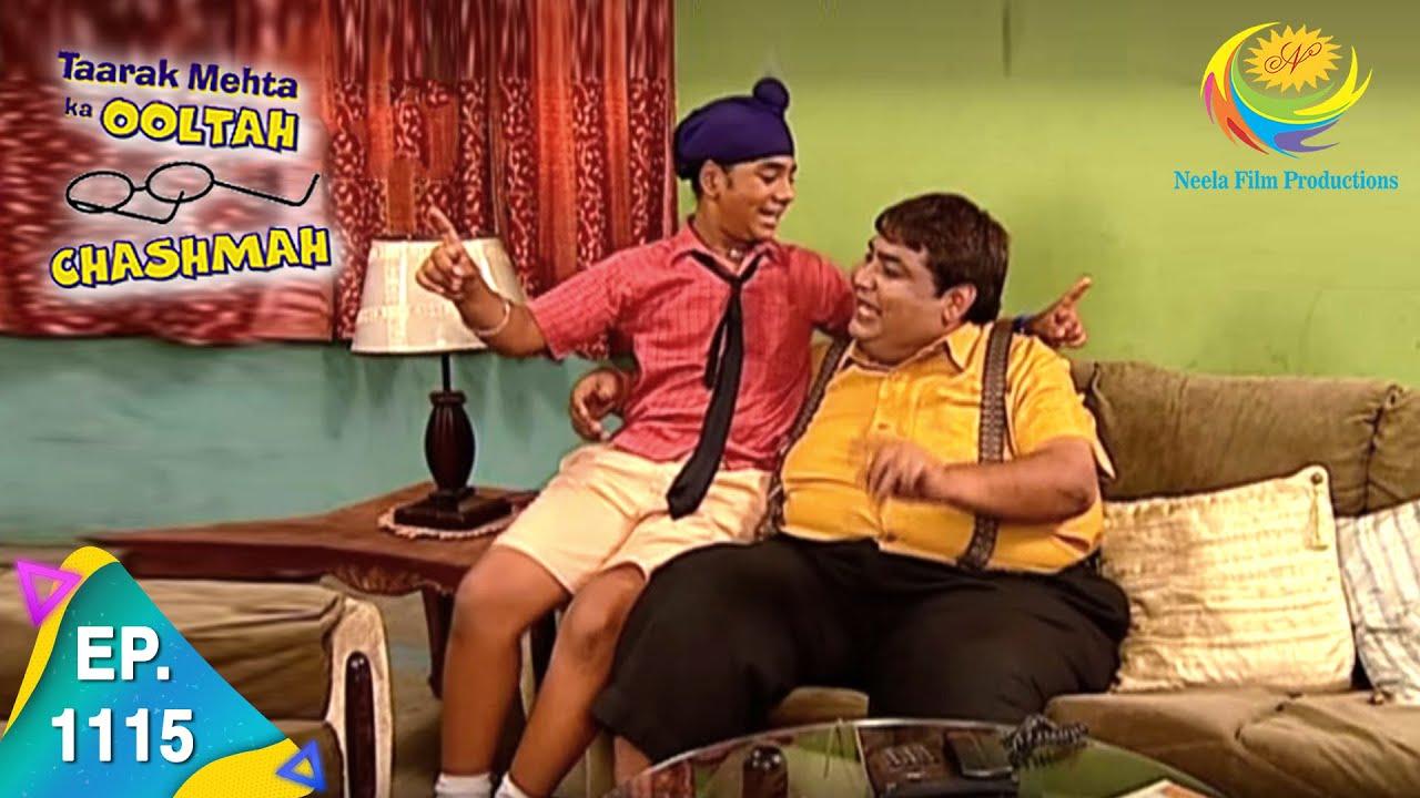 Download Taarak Mehta Ka Ooltah Chashmah - Episode 1115 - Full Episode