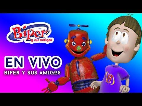 Biper y sus Amigos - ¡Primer video EN VIVO!