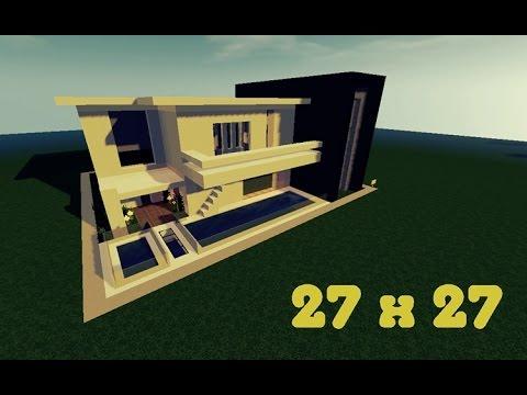 Minecraft Lüks Ev Yapımı - 27x27