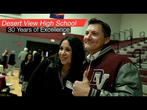 Desert View High School: 30 Years of Excellence