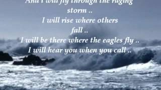 Chris de Burgh ft. Tina Yamout - Raging Storm Video Clip ( Lyrics Video )