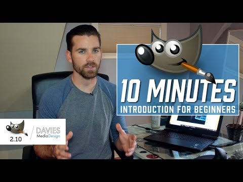 GIMP in Less Than 10 Minutes: Beginners Guide