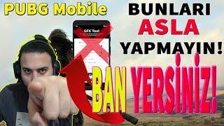 PUBG Mobile BAN Yediren 10 SEBEP! (HEPİNİZ YAPIYORSUNUZ DİKKAT!