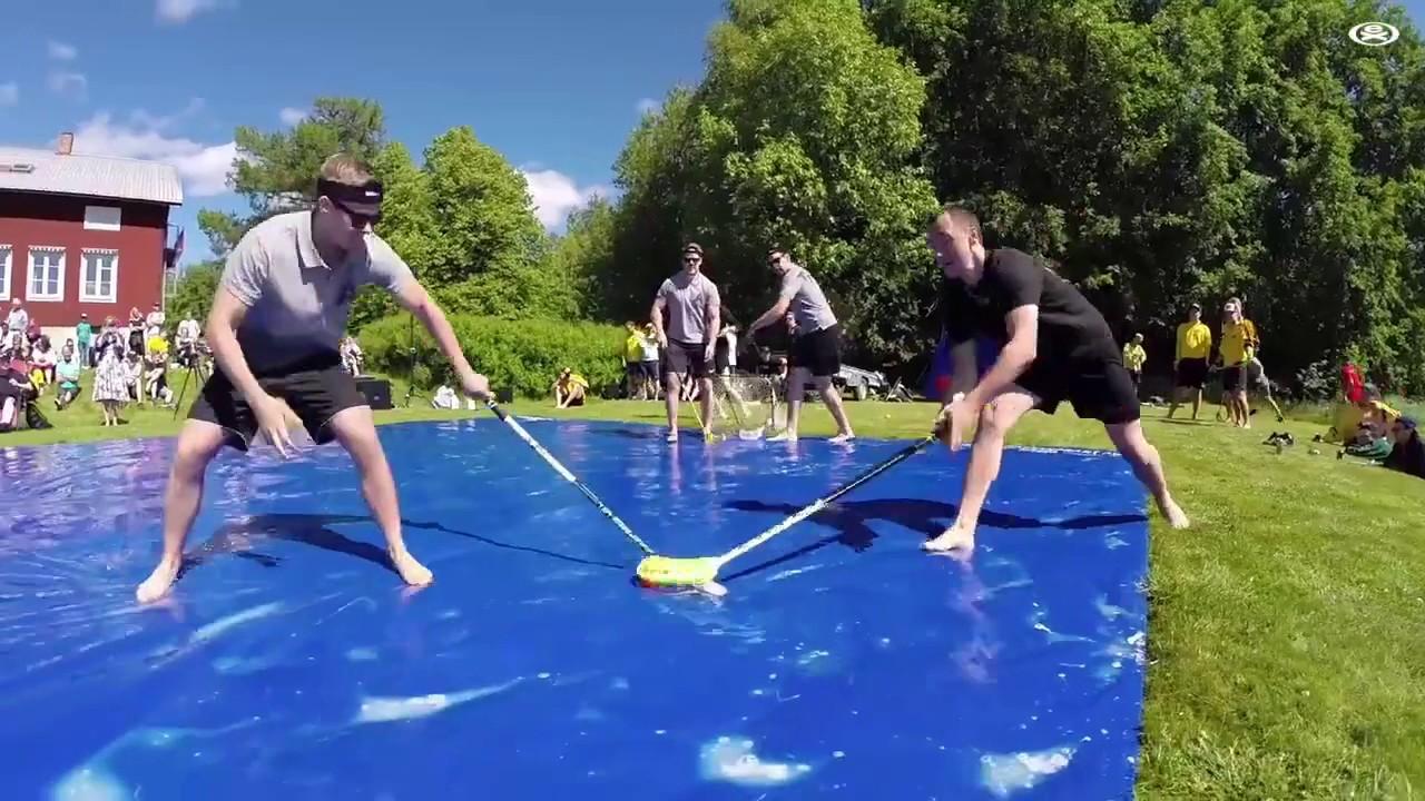 Slip And Slide Hockey