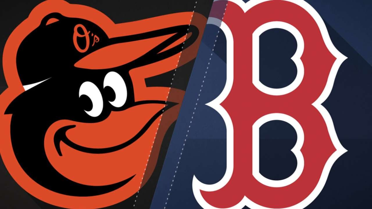Red Sox launch six home runs in 13-2 win vs. Orioles