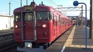 【4K】JR七尾線 普通列車415系電車 サワC05編成+サワC03編成 高松駅発車
