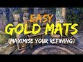 ESO | Easy gold mats! - Maximise your refining (Summerset)