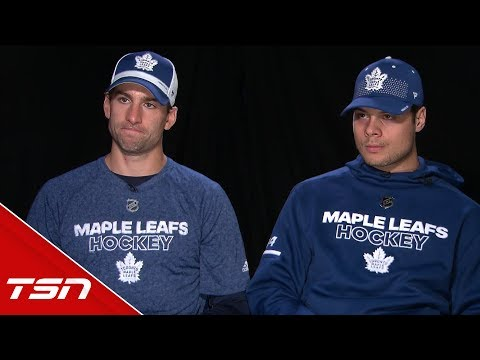 Tavares, Matthews dish on teaming up, Leafs' captaincy, Cup hopes, and more