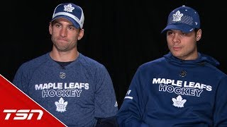 Tavares, Matthews dish on teaming up, Leafs