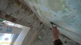 Ремонт квартиры. Потолок на кухне. Ч1