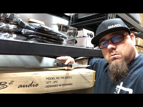 Unboxing the B2 Audio MA6000.1 and 1000.4 Amplifiers - LIVE at SMD HQ + Amp Guts Inside!