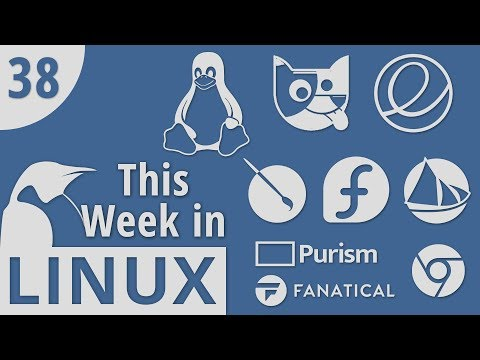 Linux Code of Conduct, Librem Key, Quirky, Solus, Krita, Mir, elementary  This Week in Linux 38