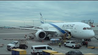 El Al Airlines Boeing 787-9 / Tel Aviv to New York JFK / 4K Video