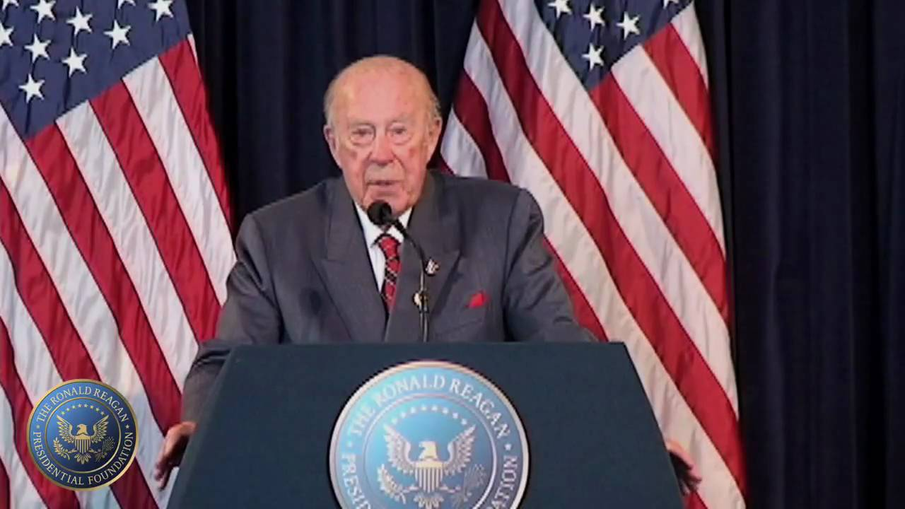 Longtime Reagan Secretary of State George Shultz dies at 100