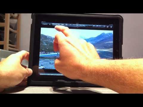 Zoom video iPad