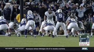 Michigan State at Penn State - Football Highlights
