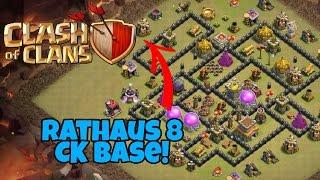 Anti 3 Star CK Base (Rathaus 8)   Clash of Clans   BlueGamer