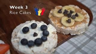 Week 3 Snack - Rice Cakes
